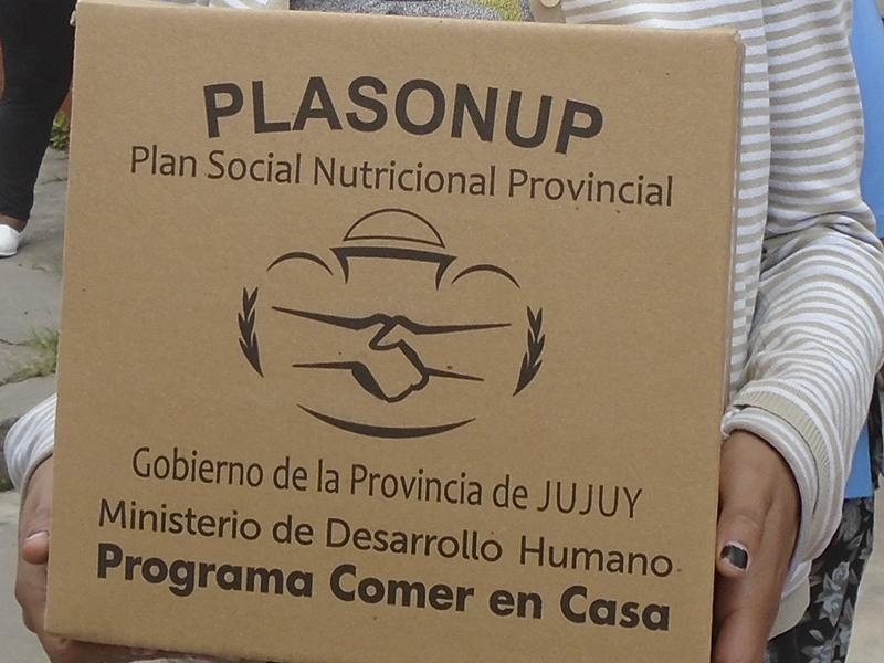 Miércoles 26, jueves 27 y viernes 28 de julio se entregarán Unidades Alimentarias en Yuto y Fraile Pintado